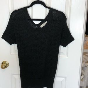 Loft Women's Large Short Sleeve Sweater Top Shirt